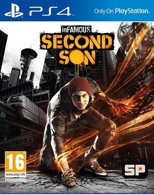 【數位版】PS4 惡名昭彰 第二之子 中文版 inFAMOUS Second Son