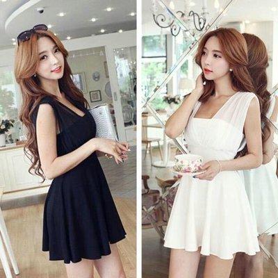 現貨白M黑M.L.XL.3XL.4XL.5XL (S- 5XL) 洋裝 連衣裙 禮服 性感 女神 中大尺碼 顯瘦 大碼