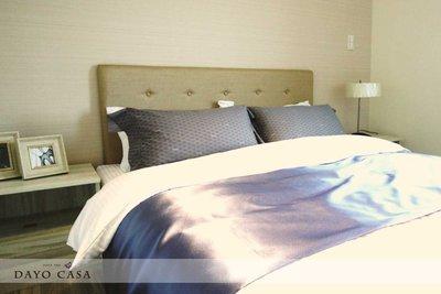 布面拉扣床頭板 寬5尺 標準雙人床適用/訂製家具設計款/居家 實品屋 樣品屋_DAYO CASA