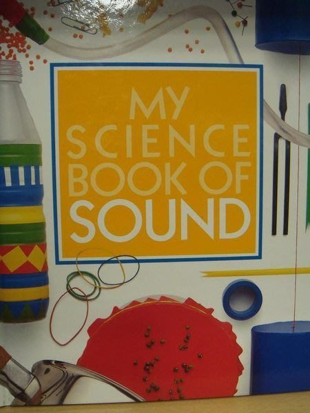 全新精裝原文童書【My Science Book of Sound】,低價起標無底價!免運費!