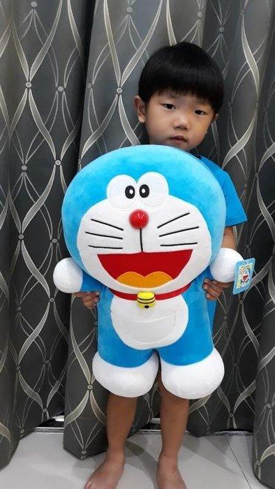 可愛哆啦A夢玩偶~正版授權~多啦A夢~高45公分~小叮噹娃娃~熱賣商品