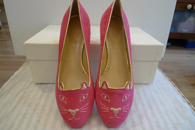CHARLOTTE OLYMPIA  Kitty  ballerinas 娃娃鞋 37&39號 現貨