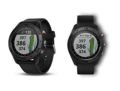 Garmin Approach S60 GPS Golf Watch 1.2吋觸控螢幕(英文版),高爾夫球GPS智能手錶,追蹤賽事紀錄,分析揮桿表現,全新原裝!