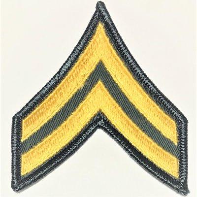 美軍公發 越戰 ARMY 陸軍 E-4 Corporal 階級臂章 全新