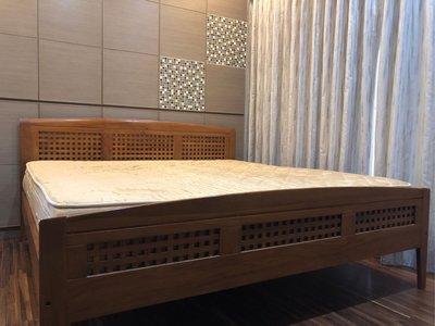 SCANTEAK詩肯柚木30717 6FT 雙人床架(加大)