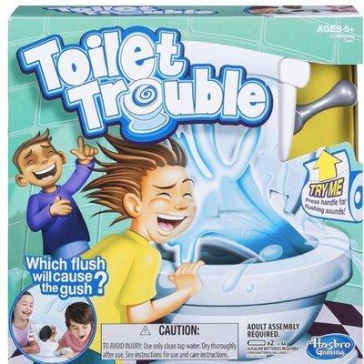 ☆快樂小屋☆【免運】瘋狂噴水馬桶 瘋狂馬桶 馬桶水箱 Toilet Trouble 整人遊戲 台中桌遊