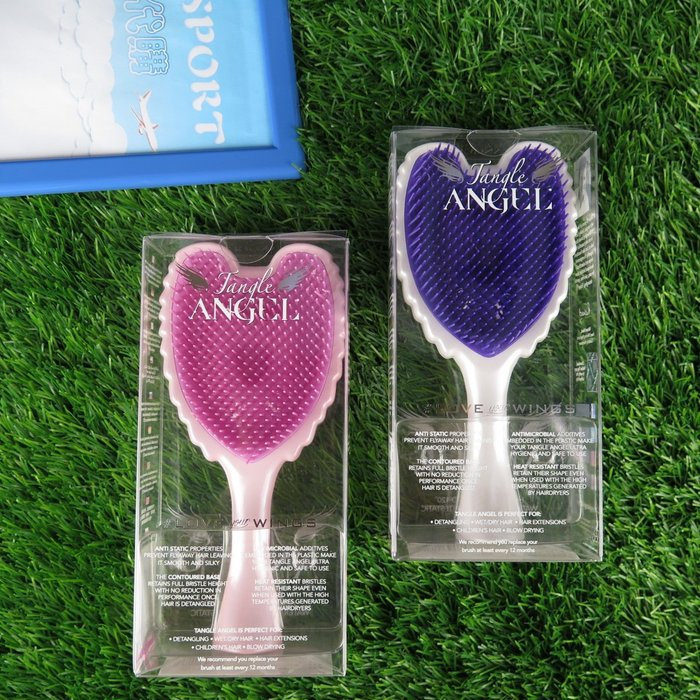 【iSport代購】 tangle angel 台灣現貨 英國 抗靜電不傷髮質 天使梳 660083- 三色 交換禮物