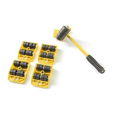 超省力家具移動器 (5件套) 家具搬運器 搬家工具 重物移動工具 托運器 傢俱移動器