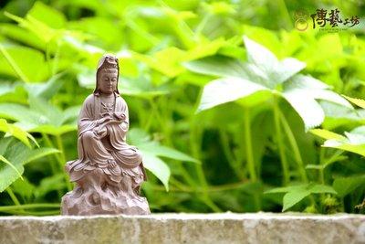 傳藝工坊 - 『小如意觀音(一)』 茶道 紫砂陶 紫砂壺 小擺件 禮品 送禮 茶桌 小品 小佛像