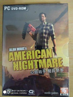 PC-GAME 心靈殺手2:魘長夢多 英文版/ Alan wake's: American Nightmare 英文版