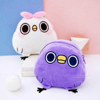 【媽媽倉庫】懶得鳥你軟Q玩偶小包包 兒童小背包 側背包