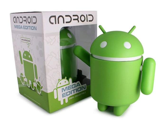 """10"""" MEGA Android towers - Standard edition green from Andrew"""