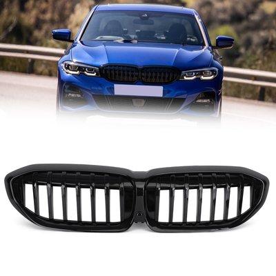 BMW G20 2019-2020 3 Series 水箱護罩亮黑單線-極限超快感