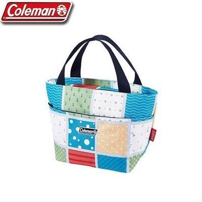 【山野賣客】Coleman美國 薄荷藍保冷手提袋 便當袋 行動冰箱 保冰袋 午餐保鮮袋 野餐袋 5L CM-27215