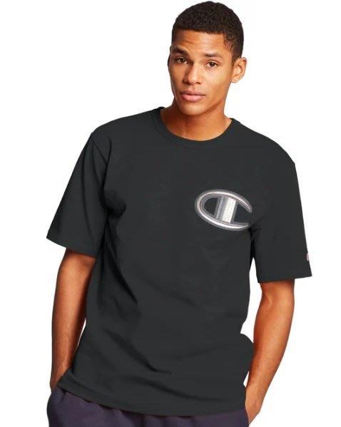 Champion Life 冠軍 美版 上衣 短袖 T恤 黑色 特別版