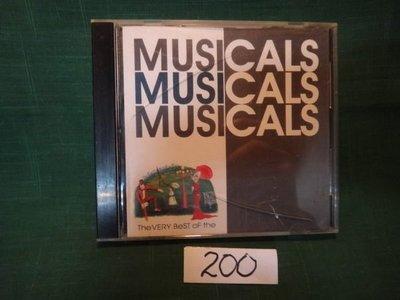 【愛悅二手書坊 CD-A4G】MUSICALS