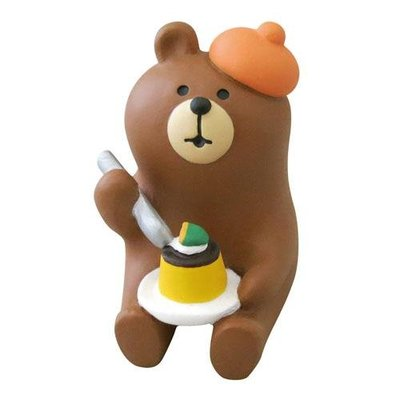 【JPS日貨】日本 全新正品 concombre 萬聖節系列 黑貓咖啡館熊(南瓜)
