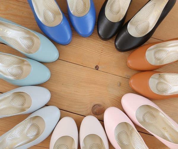 上班鞋 防水底台素雅高跟鞋  台灣手做鞋  丹妮鞋屋