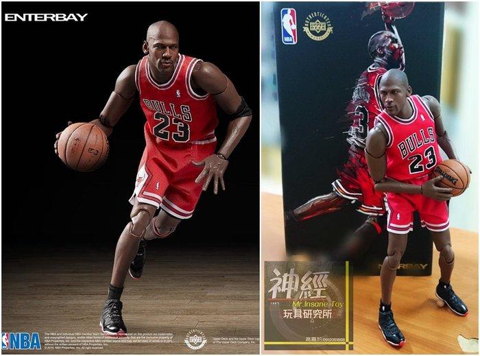 【神經玩具】預購免運 ENTERBAY 1/9 NBA Michael Jordan 麥可喬丹 公牛 MM-1207