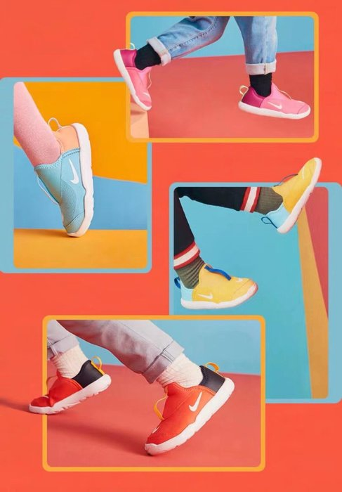 ☆║♥愷心小舖♥║☆NIKE 新款 NIKE Lil Swoosh AQ3113 軟底 一腳蹬 男童 女童 童鞋 符合人體工學