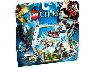 土爹玩具 LEGO 70114 樂高積木 CHIMA 神獸傳奇系列 空中競技  外盒些微盒損