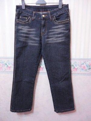一元起標~OXTO~電繡金蔥設計牛仔褲~SIZE:M