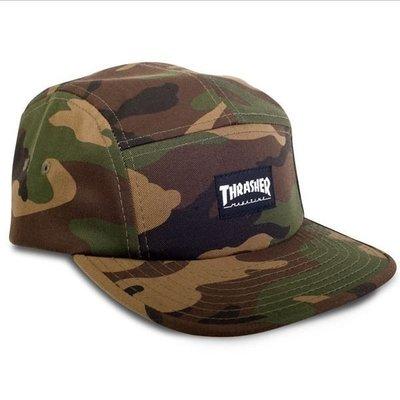 【THRASHER】Thrasher 5 Panel Hat五片帽(迷彩)