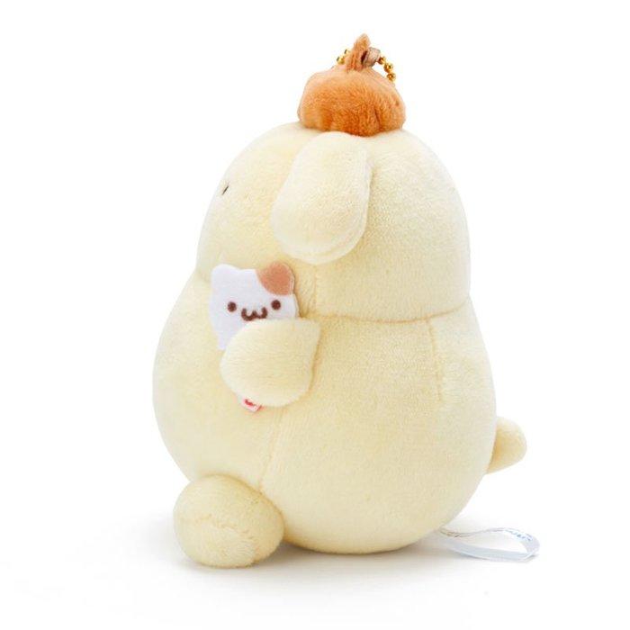 絨毛娃娃小吊飾 三麗鷗 布丁狗 黃色 冰淇淋 日本正版進口授權