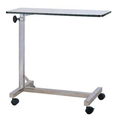 【亮亮生活】ღ 不鏽鋼床上桌 美耐板面 ღ 可升降