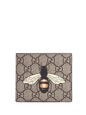 GUCCI 蜜蜂 八卡短夾