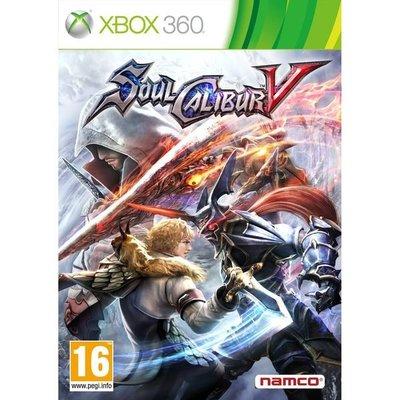 全新未拆 XBOX 360 劍魂5 Soul Calibour V -英日文版-