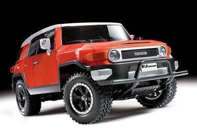 大千遙控模型 田宮TAMIYA 遙控車透明車殼#51560 RC Body Set Toyota FJ Cruiser