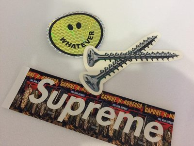 (TORRENT) 2016 Supreme  Screw sticker 螺絲 貼紙