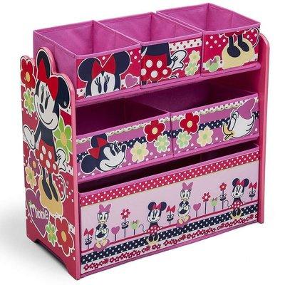 【JP.com】日本玩具反斗城限定版 DISNEY MINNIE&DAISY 粉紅色 玩具收納櫃 日本帶回