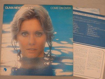 【柯南唱片】olivia newton john come on over//奧莉薇亞紐頓強>日版LP