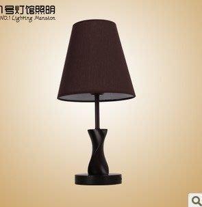 【優上精品】美式鄉村北歐風格木質臥室床頭臺燈調光客廳燈具燈飾(Z-P3244)