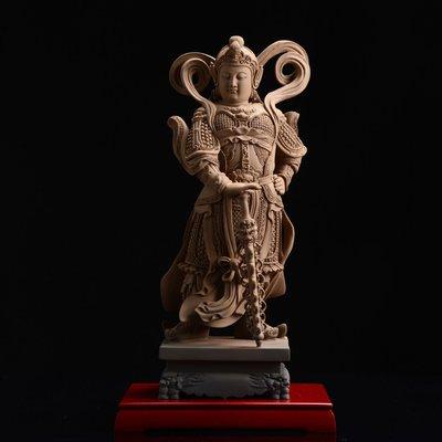 傳藝工坊 - 『韋馱菩薩 大』二護法 關羽 韋陀 風水 招財 鎮宅 另售 觀音 豼貅 笑佛 小佛像