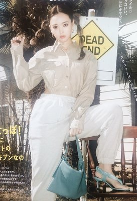 🌟日本代購   SLY 軟軟皮革手提方包 腋下包   ♡VIVI5月號揭載♡