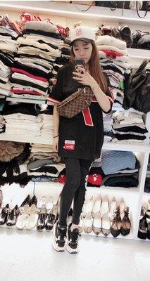 【RECOVER名品二手】LV 咖啡格紋腰包 . Louis Vuitton . 胸口包 . 附布套 . 男女均可 .