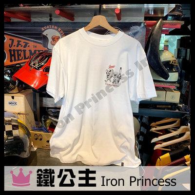 【鐵公主騎士部品】2021 GEAR UP TEE s/s Good teamwork 短袖上衣 純棉 短袖T恤 白色
