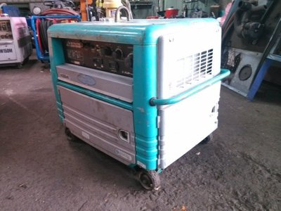 【另有同款現貨】擎揚機電DENYO 電友 GAW-180ES變頻《防音型》汽油引擎電焊發電機 日本外匯二手中古