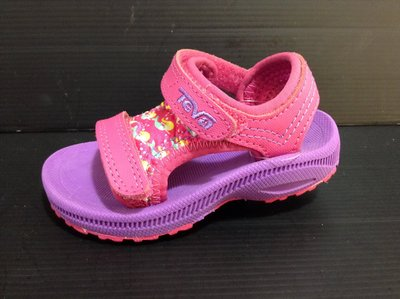 Teva 專業戶外戲水涼鞋 北鼻/小童 運動款涼鞋 魔鬼貼設計 防滑耐水性耐磨超耐磨 12cm~14cm