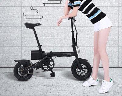 電瓶車 折疊電動自行車成人小型代步迷你男女電瓶車助力車代駕電動車  mks