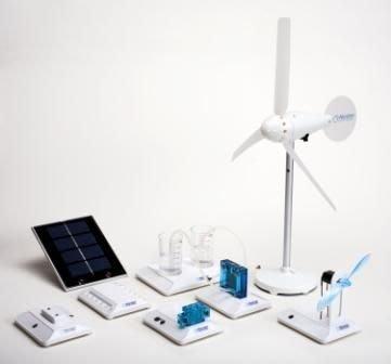 【新版】風力 太陽能 燃料電池 組( Renewable Energy Science Educational Set)