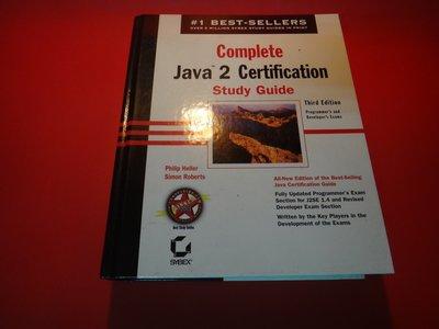 【愛悅二手書坊 09-56】Complete Java 2 Certification Study Guide