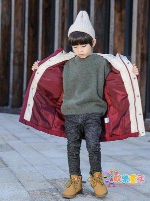 男童棉衣新款冬季外套加厚棉襖兒童羽絨棉服韓版冬裝潮中長款