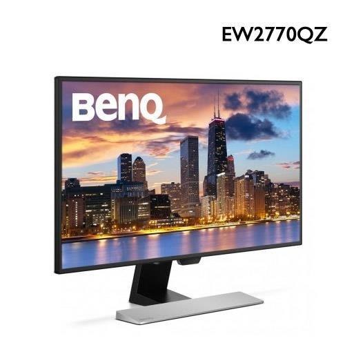 含發票+送32G隨身碟BENQ 27吋 EW2770QZ 智慧藍光 舒視屏 「黃金比例」洗鍊的優雅工藝