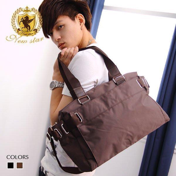托特包 素面防水尼龍側背包包肩背包旅行袋 NEW STAR BB08