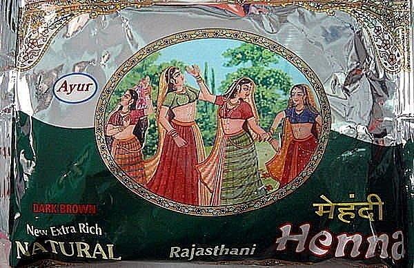 『Mayalu』印度Ayur拉賈斯坦指甲花粉( Rajasthani) 染髮增色植物棕色200g無重金屬2020/01製