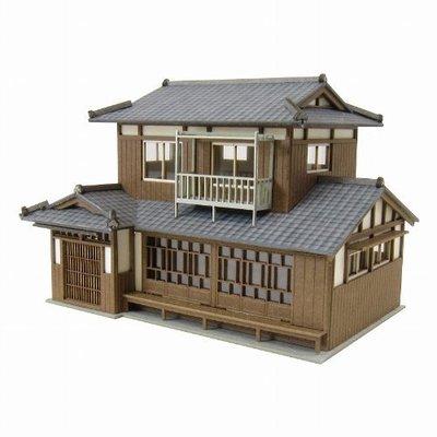 日本正版 Sankei 1/150 民家C MP03-85 紙模型 需自行組裝 日本代購